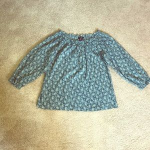 American Living - Blue paisley top. NWT's